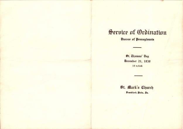 ServiceofOrdination1939-1