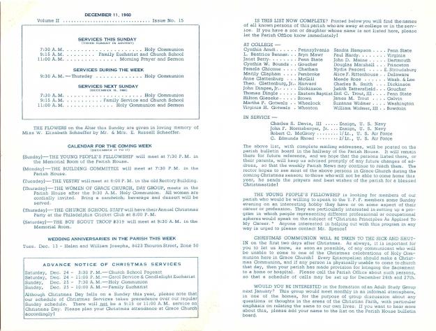 GraceChurchParishNews1960-2