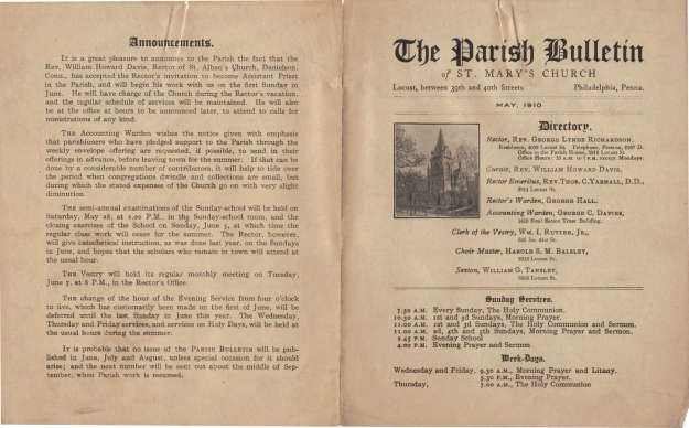 ParishBulletin1910-1
