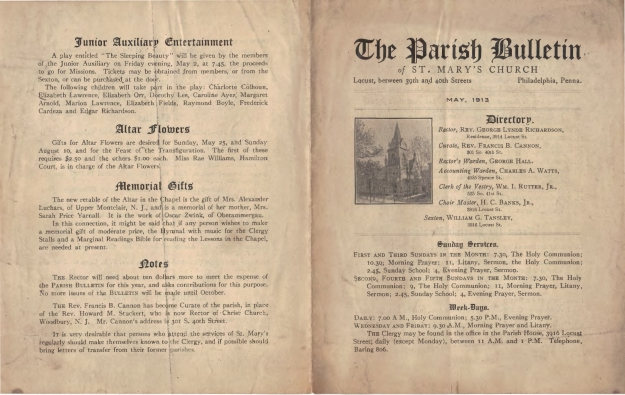 ParishBulletin1913-3