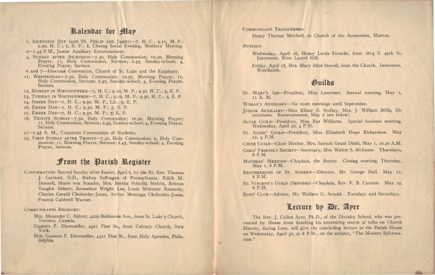 ParishBulletin1913-4