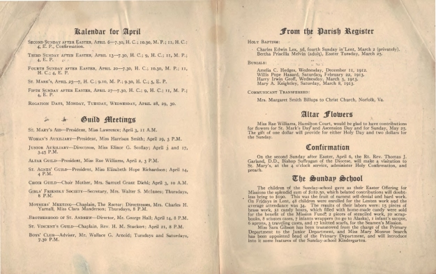 ParishBulletin1913-6