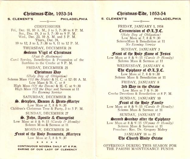 ChristmastideProgram19531954-2