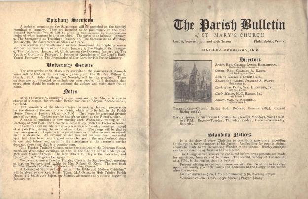 ParishBulletin1916-1