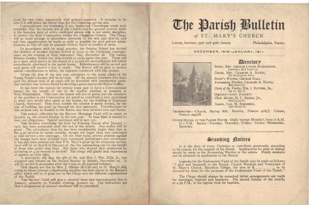 ParishBulletin1917-1