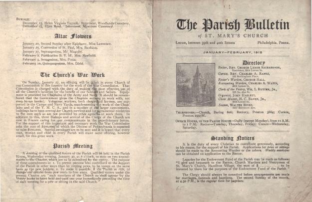 ParishBulletin1918-1