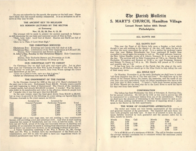 ParishBulletin1925-3
