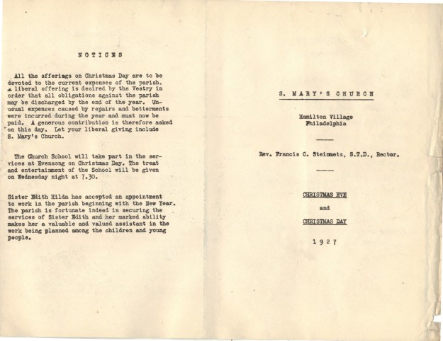 ServiceLeaflets1927-39