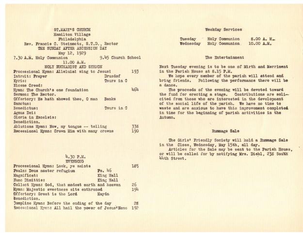 ServiceLeaflets1929-19
