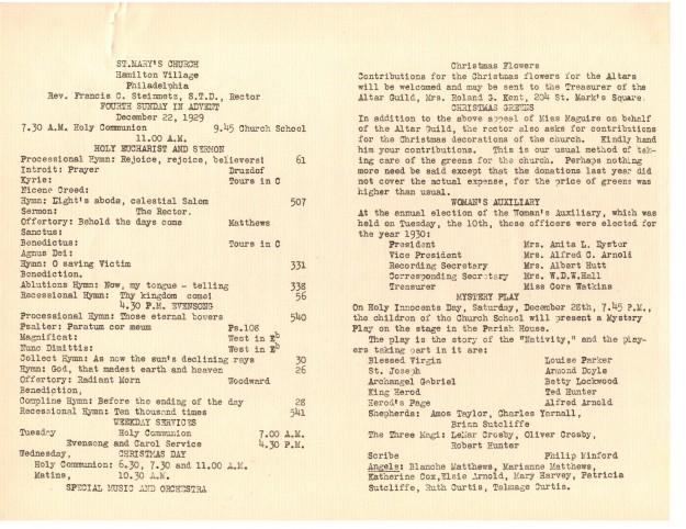 ServiceLeaflets1929-33