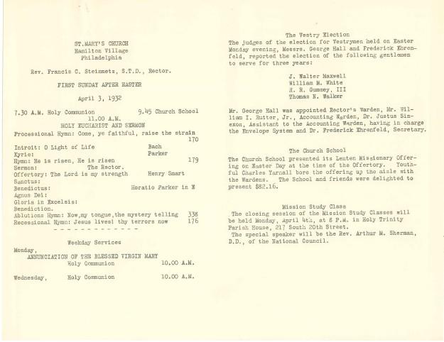 ServiceLeaflets1932-2