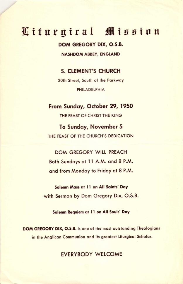 LiturgicalMission1950