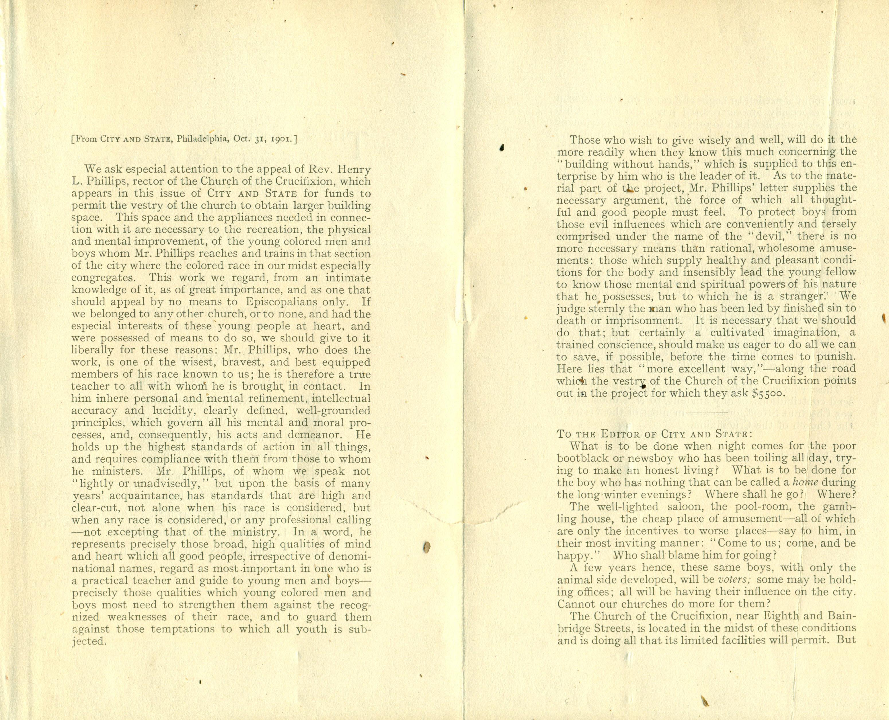 Church of the Crucifixion | Philadelphia Studies | Page 9