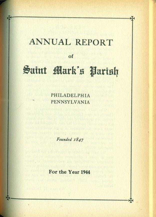 stmarksreports1944194519501951