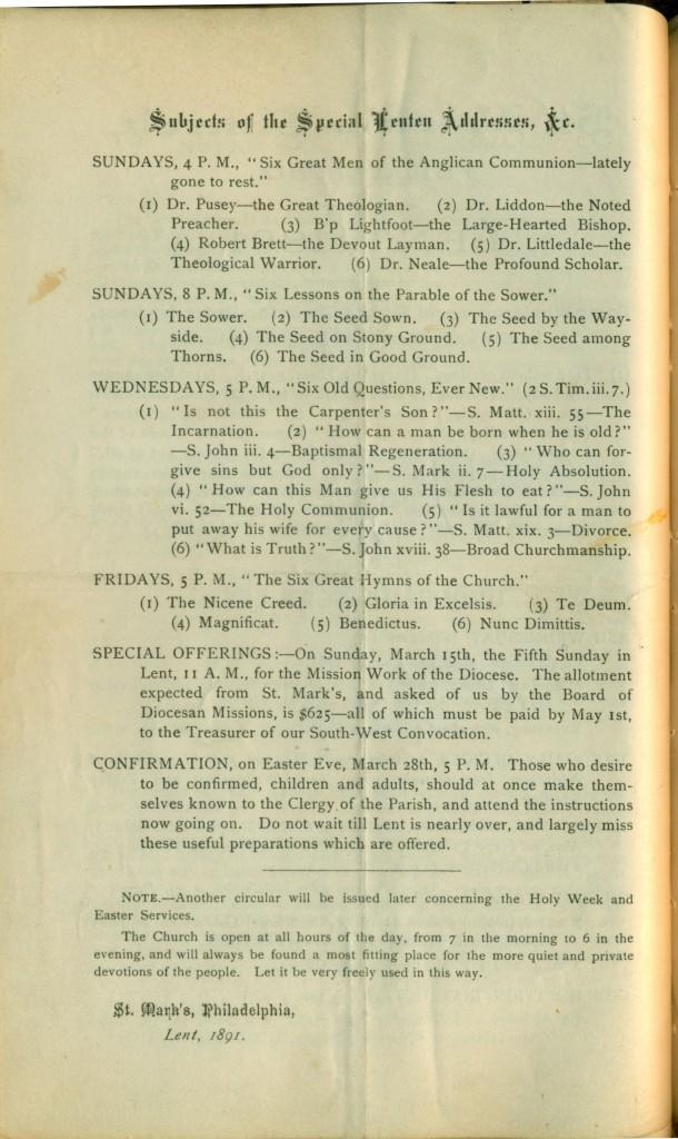 stmarkseasterandlentprograms1890s 16