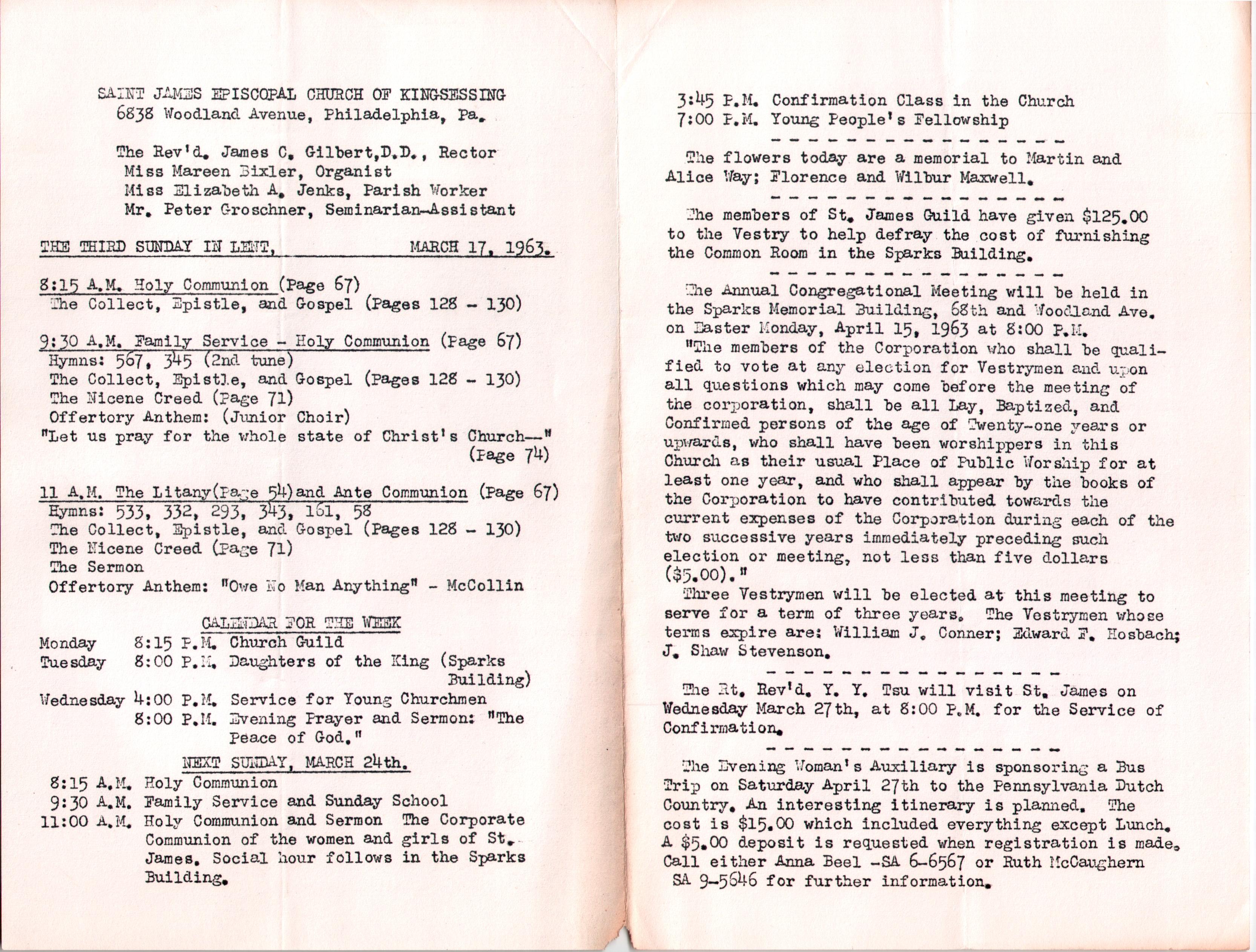 St  James' Church (Kingsessing) | Philadelphia Studies | Page 2