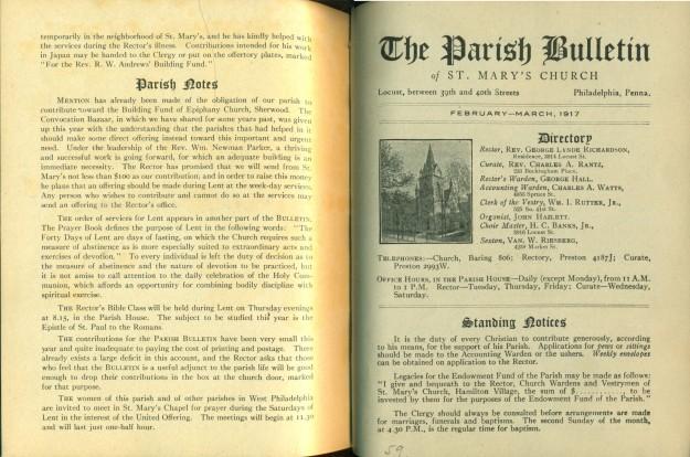 parishbulletinfebmar1917